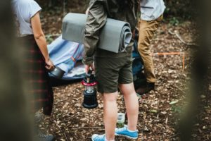 Camping Heizung fürs Zelt